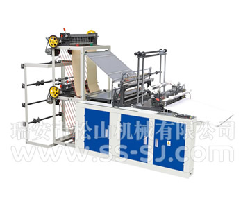 FOUR LINE COLD CUTTING BAG MAKING MACHINE