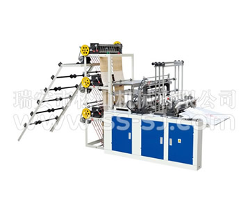 SIX LINE COLD CUTTING BAG MAKING MACHINE